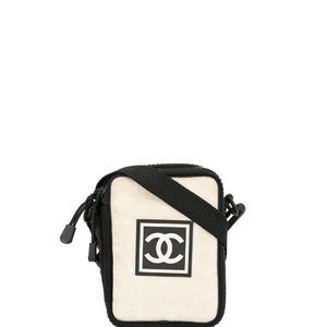Chanel Vintage Sports Line Crossbody Shoulder Bag